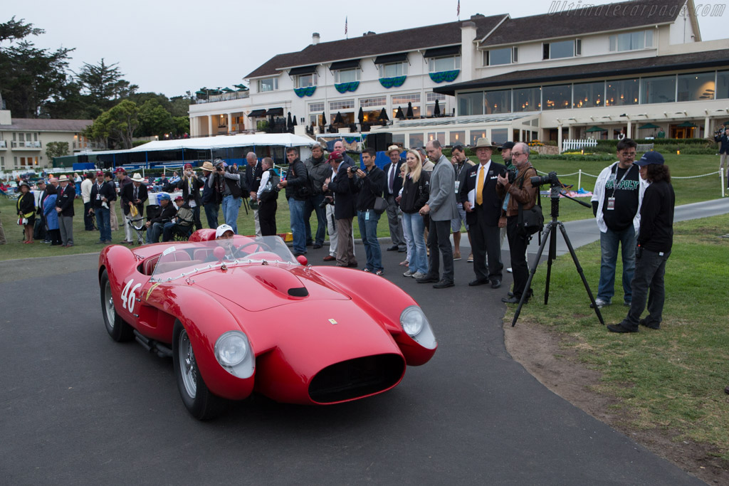 Arriving on the field - Chassis: 0756TR   - 2014 Pebble Beach Concours d'Elegance