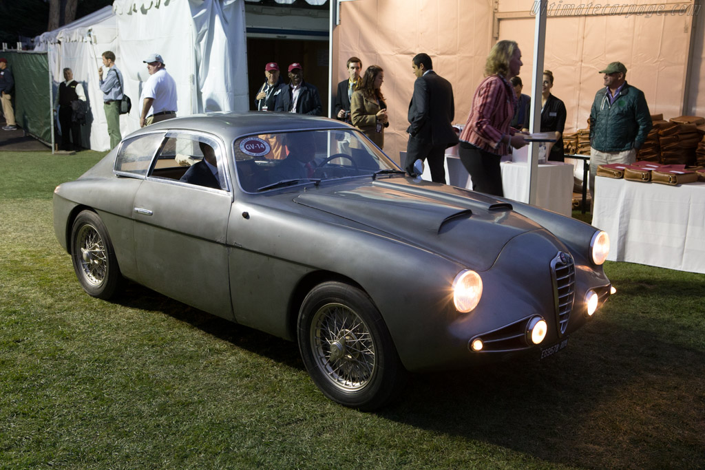 Arriving on the field    - 2014 Pebble Beach Concours d'Elegance