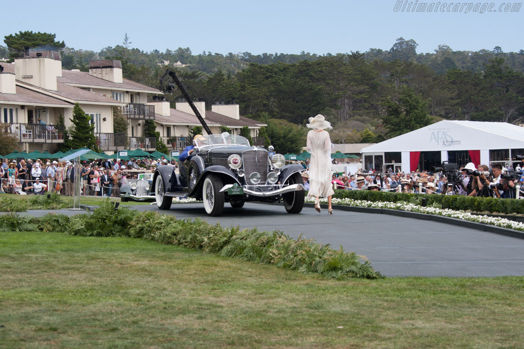 Auburn 12-165 Salon Speedster  - Entrant: Bill & Barbara Parfet  - 2014 Pebble Beach Concours d'Elegance