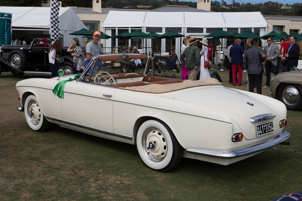 BMW 503 Series II Cabriolet - Chassis: 69283 - Entrant: Karra L. Canum  - 2014 Pebble Beach Concours d'Elegance