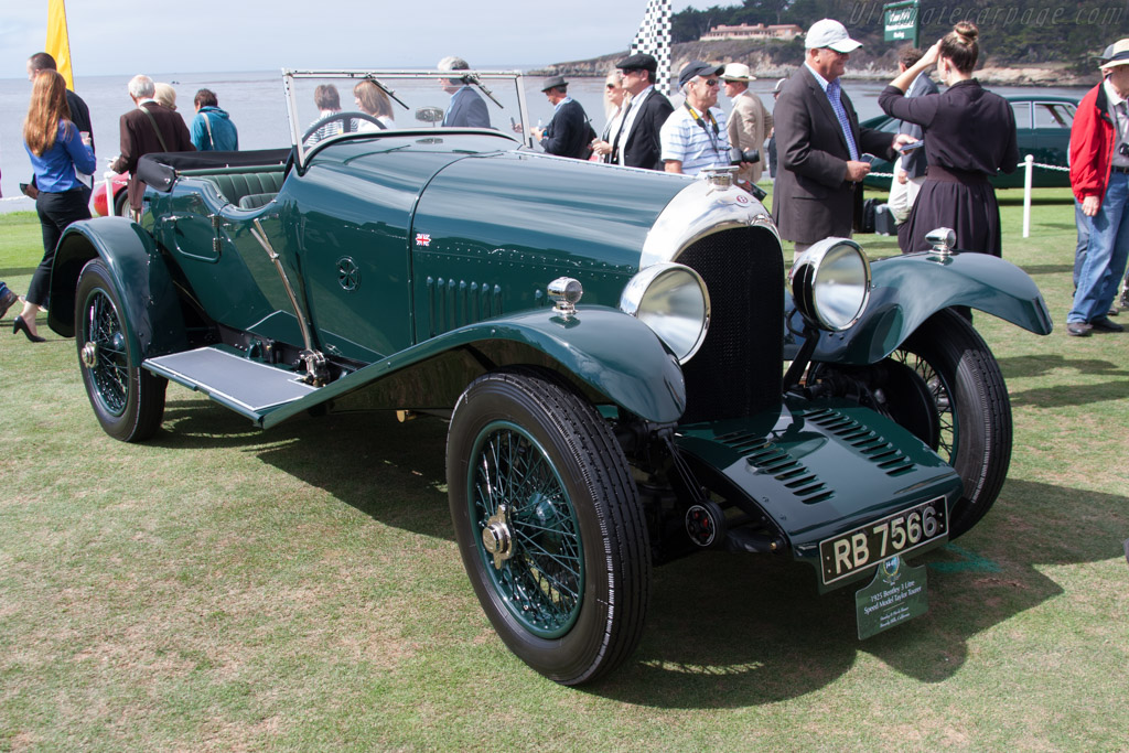 Bentley 3 Litre Speed Model Taylor Tourer - Chassis: 921 - Entrant: Stanley & Merle Bauer  - 2014 Pebble Beach Concours d'Elegance