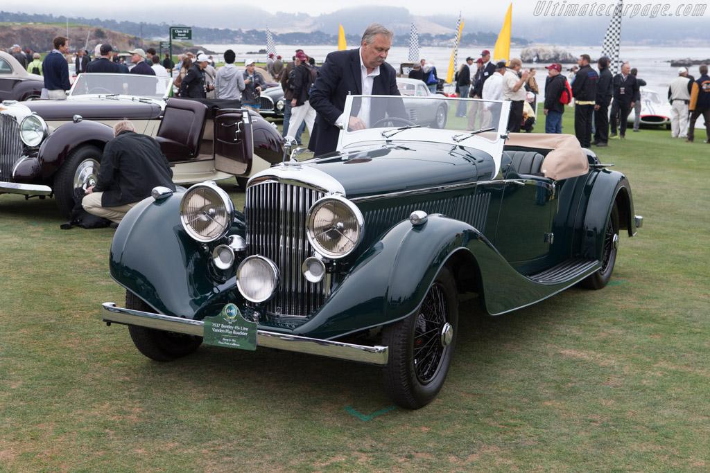 Bentley 4 ¼ Litre Vanden Plas Tourer  - Entrant: Barry G. Hon  - 2014 Pebble Beach Concours d'Elegance