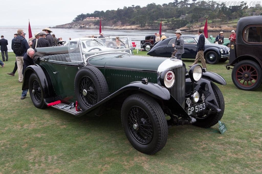 Bentley 4 Litre Vanden Plas Tourer  - Entrant: Mark Smith  - 2014 Pebble Beach Concours d'Elegance