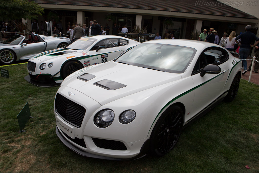 Bentley Continental GT3-R    - 2014 Pebble Beach Concours d'Elegance
