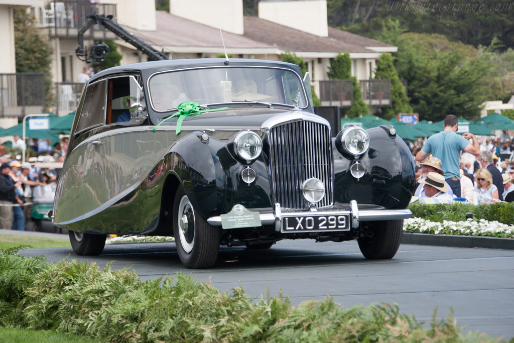 Bentley Mark VI Hooper Sports Saloon  - Entrant: Fred & Donna Kriz  - 2014 Pebble Beach Concours d'Elegance