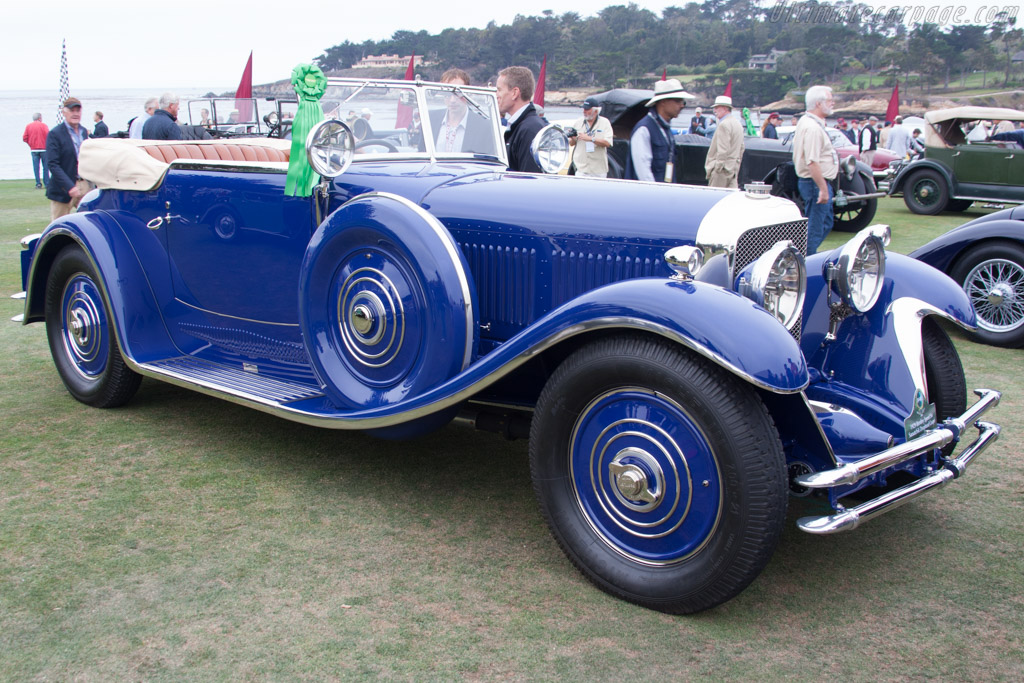 Bentley Speed Six Saoutchik DHC - Chassis: SB2769 - Entrant: John & Gwen McCaw  - 2014 Pebble Beach Concours d'Elegance