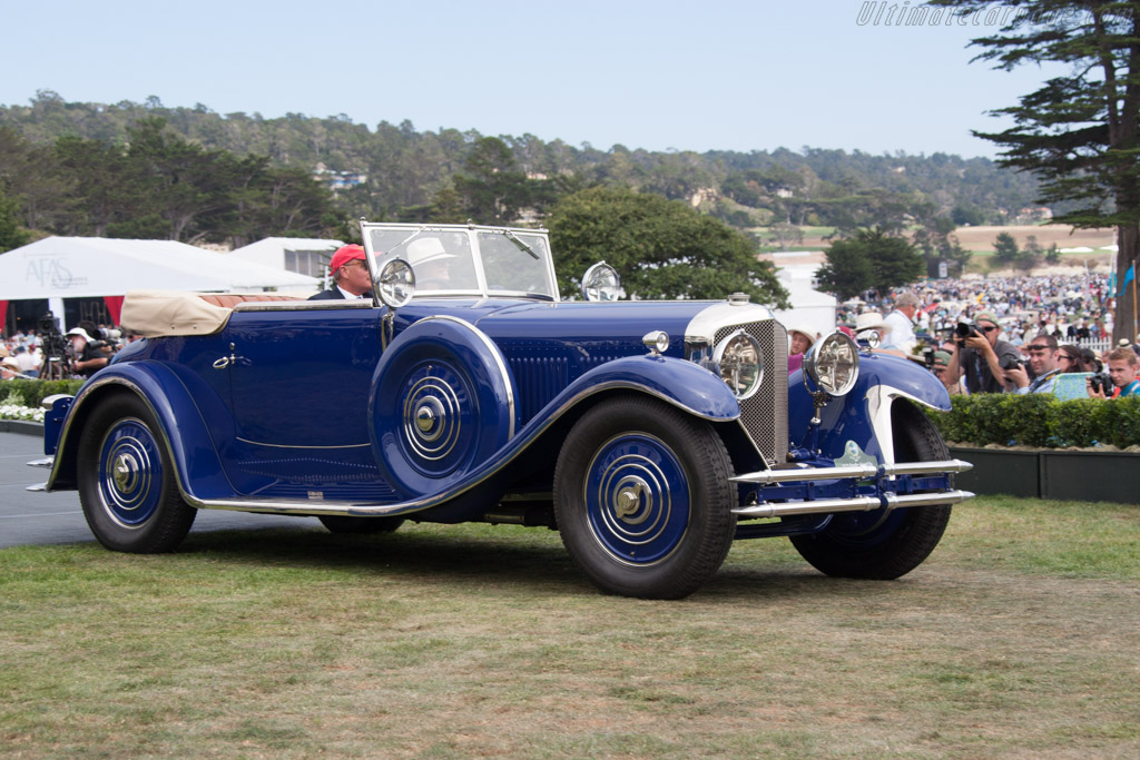 Bentley Speed Six Saoutchik DHC - Chassis: SB2769 - Entrant: John & Gwen McCaw  - 2014 Pebble Beach Concours d'Elegance