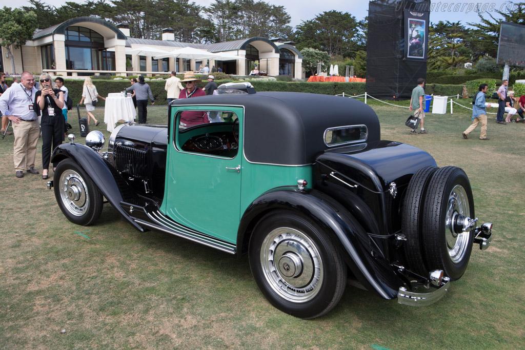 Bugatti Type 50 Million Guiet Coupe - Chassis: 50117 - Entrant: Peter & Merle Mullin  - 2014 Pebble Beach Concours d'Elegance