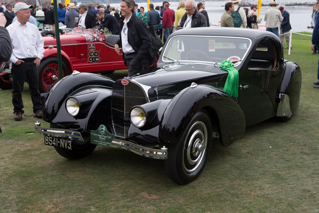 Bugatti Type 57SC Atalante - Chassis: 57551 - Entrant: Jim Patterson  - 2014 Pebble Beach Concours d'Elegance