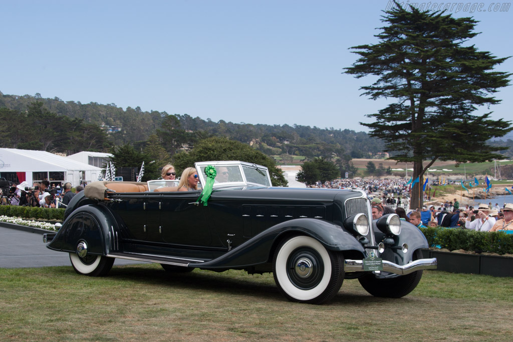 Chrysler CL Imperial Custom LeBaron Phaeton  - Entrant: Joseph & Margie Cassini III  - 2014 Pebble Beach Concours d'Elegance