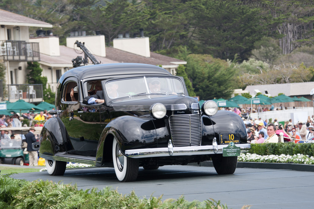 Chrysler Imperial C-15 LeBaron Town Car  - Entrant: Howard & Raslind Kroplick  - 2014 Pebble Beach Concours d'Elegance