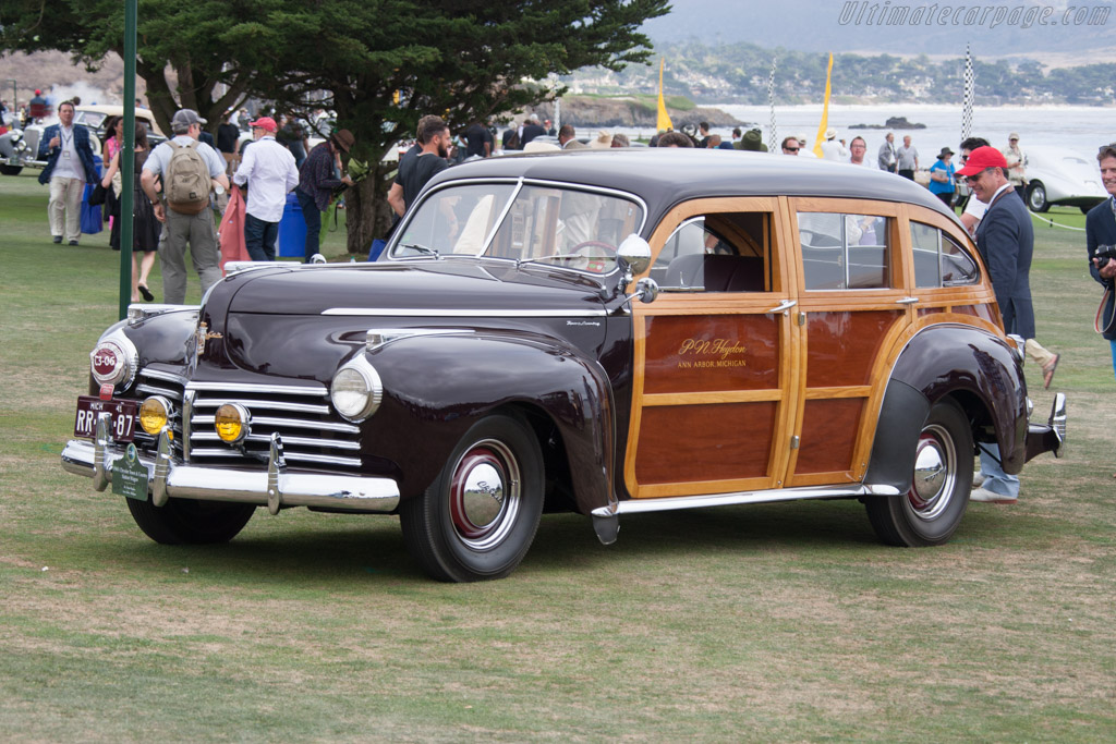 Chrysler Town & Country Station Wagon  - Entrant: Dr. Peter Heydon  - 2014 Pebble Beach Concours d'Elegance