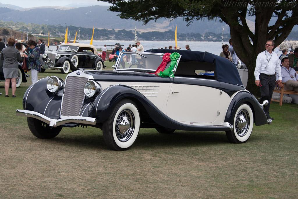 Delage D6-70 Figoni & Falaschi Milord Cabriolet - Chassis: 50607 - Entrant: Peter Harburg  - 2014 Pebble Beach Concours d'Elegance