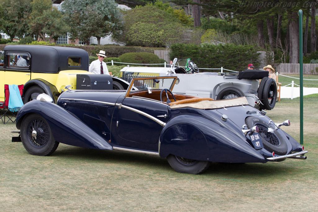 Delahaye 135 M Guillore Cabriolet - Chassis: 47380 - Entrant: Jack Braam Ruben  - 2014 Pebble Beach Concours d'Elegance