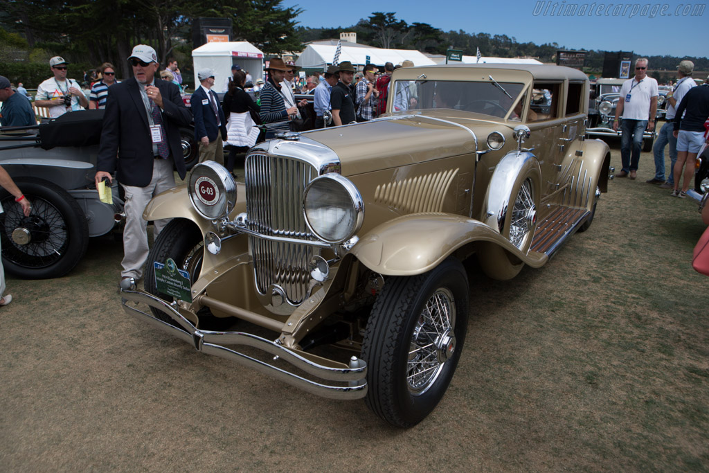 Duesenberg J Murphy Custom Beverly Sedan  - Entrant: Tony & Jonna Ficco  - 2014 Pebble Beach Concours d'Elegance