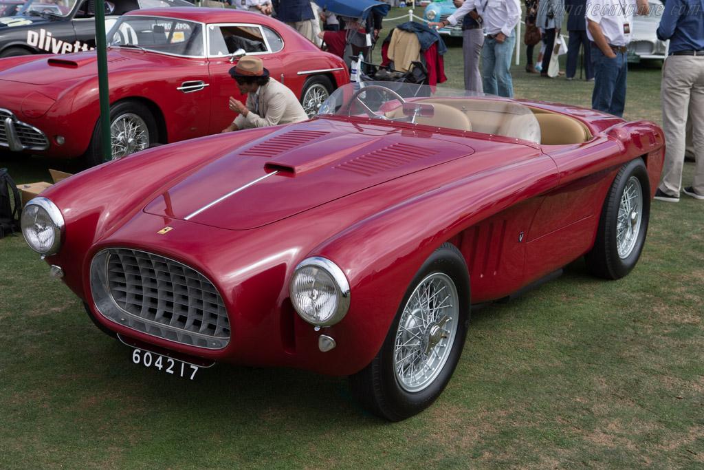 Ferrari 225 Export Vignale Spyder - Chassis: 0216ED - Entrant: Anzia LLC  - 2014 Pebble Beach Concours d'Elegance