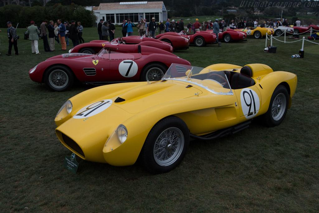Concours D Elegance >> Ferrari 250 TR - Chassis: 0736TR - Entrant: John & Gwen McCaw - 2014 Pebble Beach Concours d ...