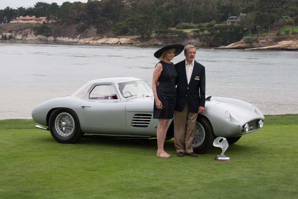 Ferrari 375 MM Scaglietti Coupe - Chassis: 0402AM - Entrant: Jon Shirley  - 2014 Pebble Beach Concours d'Elegance
