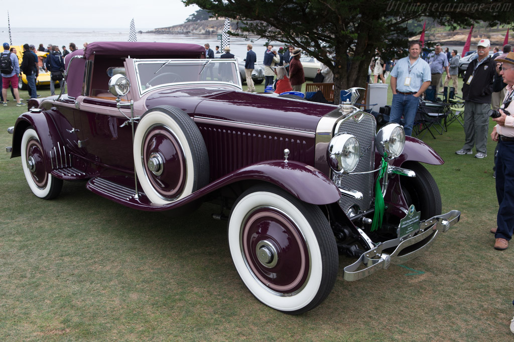 Hispano Suiza H6B Hibbard & Darrin Cabriolet - Chassis: 12034 - Entrant: Lukas Huni  - 2014 Pebble Beach Concours d'Elegance