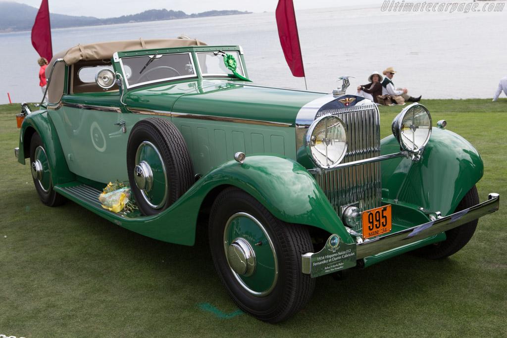 Hispano Suiza J12 Fernandez & Darrin Cabriolet  - Entrant: Morton Y. Bullock  - 2014 Pebble Beach Concours d'Elegance