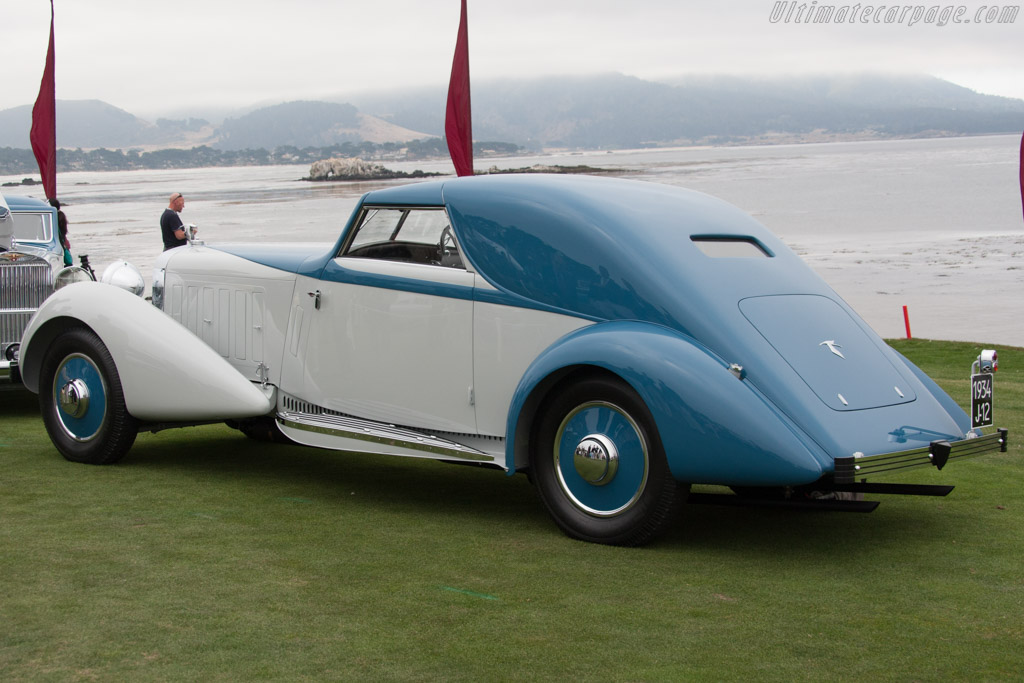 Hispano Suiza J12 Fernandez & Darrin Coupe de Ville - Chassis: 14036 - Entrant: Robert M. & Anne Brockinton Lee  - 2014 Pebble Beach Concours d'Elegance