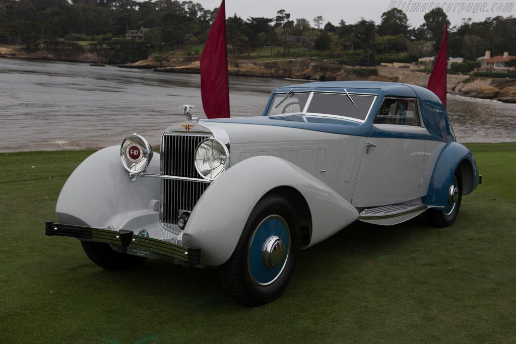 Hispano Suiza J12 Fernandez & Darrin Coupe de Ville - Chassis: 14036 - Entrant: Robert M. & Anne Brockinton Lee  - 2014 Pebble Beach Concours d'Elegance