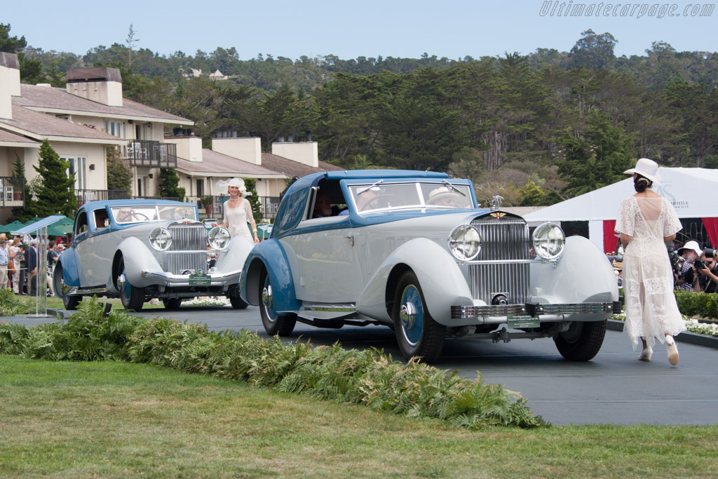 Hispano Suiza K6 Fernandez & Darrin Coupe de Chauffeur  - Entrant: Robert M. & Anne Brockinton Lee  - 2014 Pebble Beach Concours d'Elegance