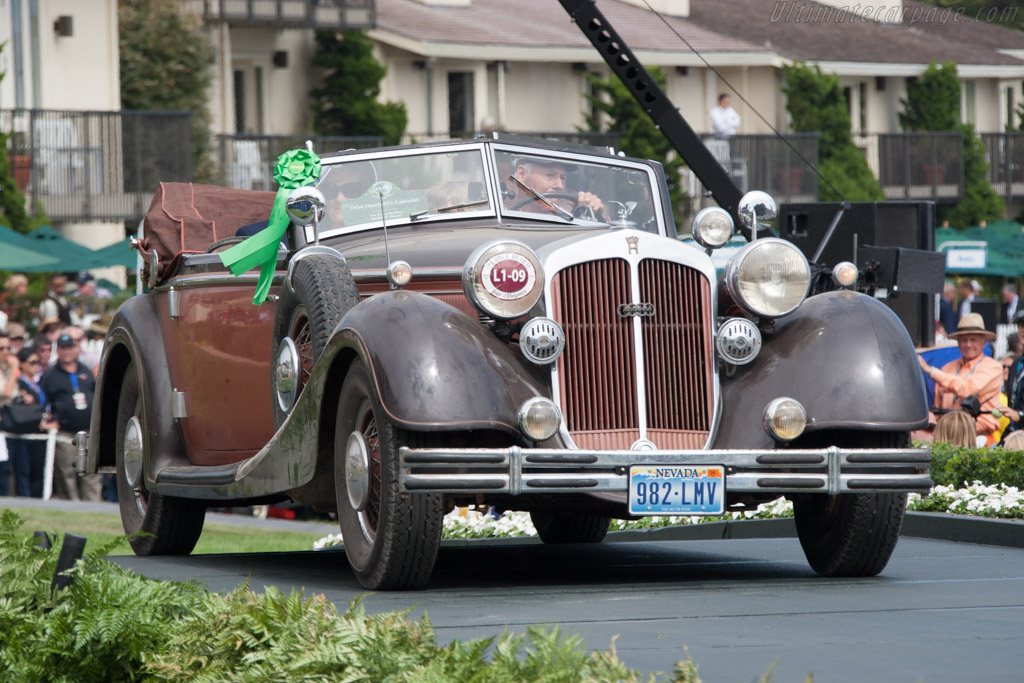 Horch 853 Cabriolet - Chassis: 853339 - Entrant: Guy & Dorothy Mace  - 2014 Pebble Beach Concours d'Elegance