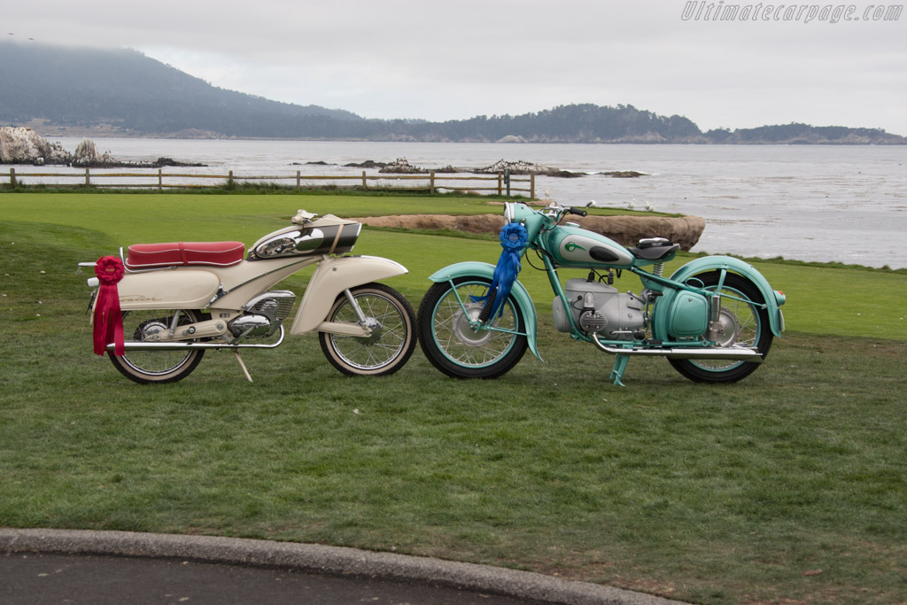 IFA BK350  - Entrant: Jim & Sharon Dillard  - 2014 Pebble Beach Concours d'Elegance