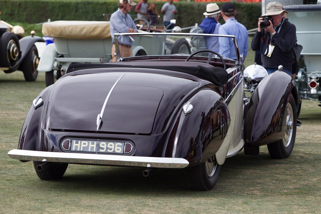 Lagonda V12 Rapide Drophead Coupe - Chassis: 14091 - Entrant: Ron Rezek  - 2014 Pebble Beach Concours d'Elegance