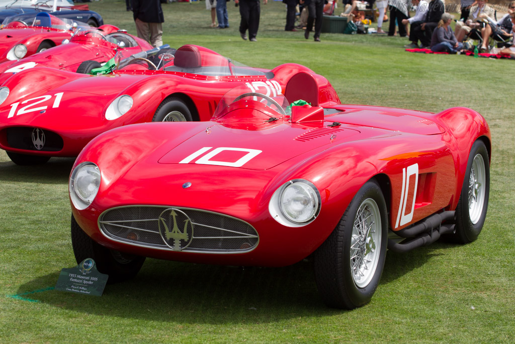 Maserati 300S - Chassis: 3053 - Entrant: Pierre F. Mellinger  - 2014 Pebble Beach Concours d'Elegance