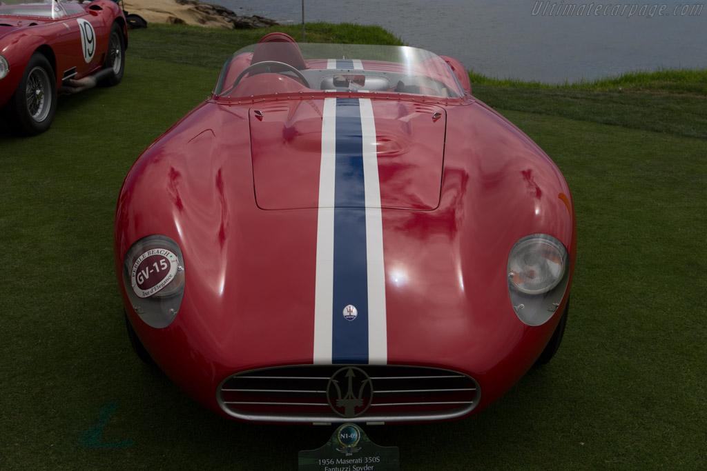 Maserati 350S - Chassis: 3502 - Entrant: Scuderia da Corsa  - 2014 Pebble Beach Concours d'Elegance