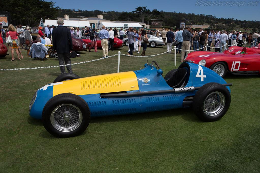Maserati 4CLT/48 - Chassis: 1599 - Entrant: Daniel Sielecki  - 2014 Pebble Beach Concours d'Elegance