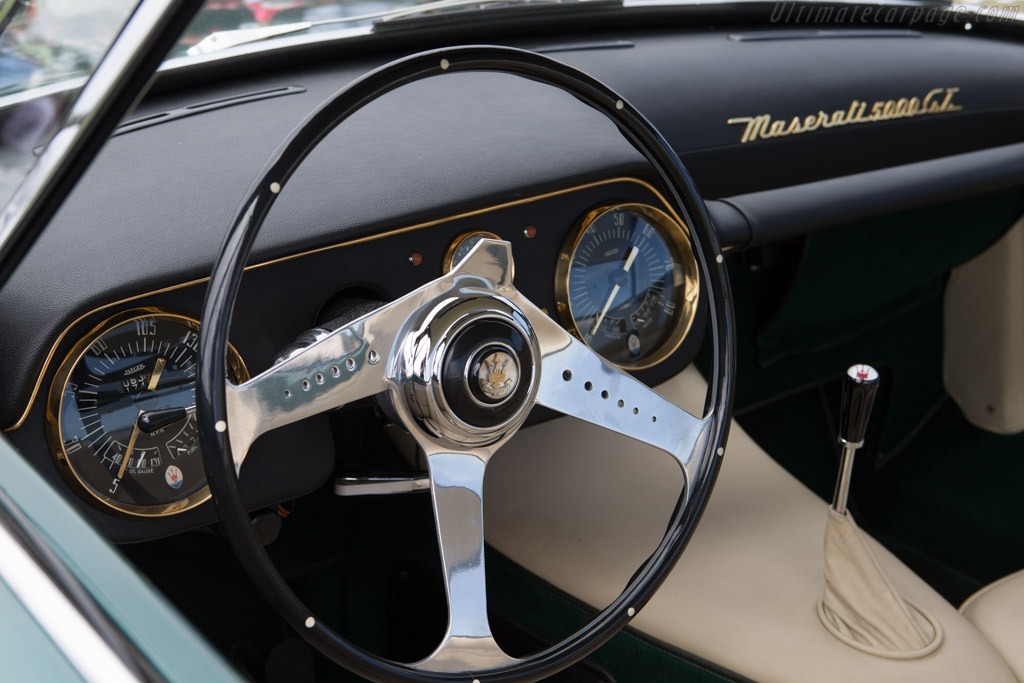Maserati 5000 GT Touring Coupe - Chassis: 103.004 - Entrant: Lawrence Auriana - 2014 Pebble Beach Concours d'Elegance