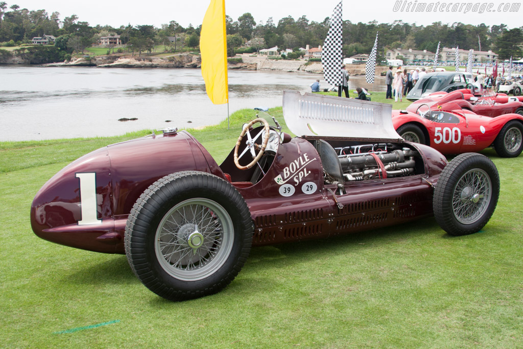 Maserati 8CTF - Chassis: 3032 - Entrant: Indianapolis Motor Speedway Hall of Fame  - 2014 Pebble Beach Concours d'Elegance