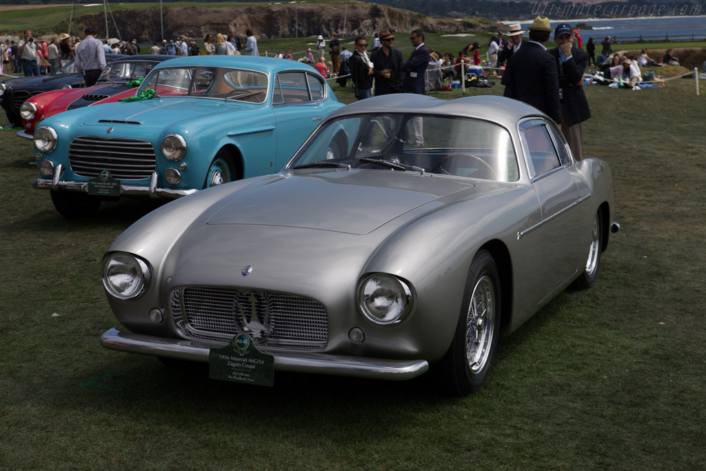 Maserati A6G/54 Zagato Coupe Speciale - Chassis: 2155 - Entrant: RQ Collections  - 2014 Pebble Beach Concours d'Elegance