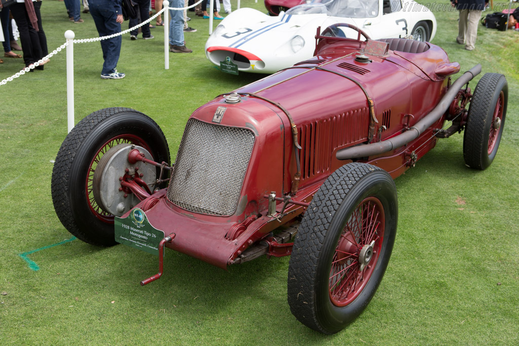 Maserati Tipo 26B - Chassis: 2515 - Entrant: Lawrence Auriana  - 2014 Pebble Beach Concours d'Elegance