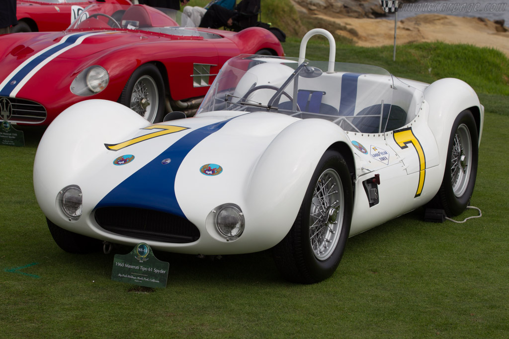 Maserati Tipo 61 'Birdcage' - Chassis: 2458 - Entrant: Big Fork Holdings  - 2014 Pebble Beach Concours d'Elegance