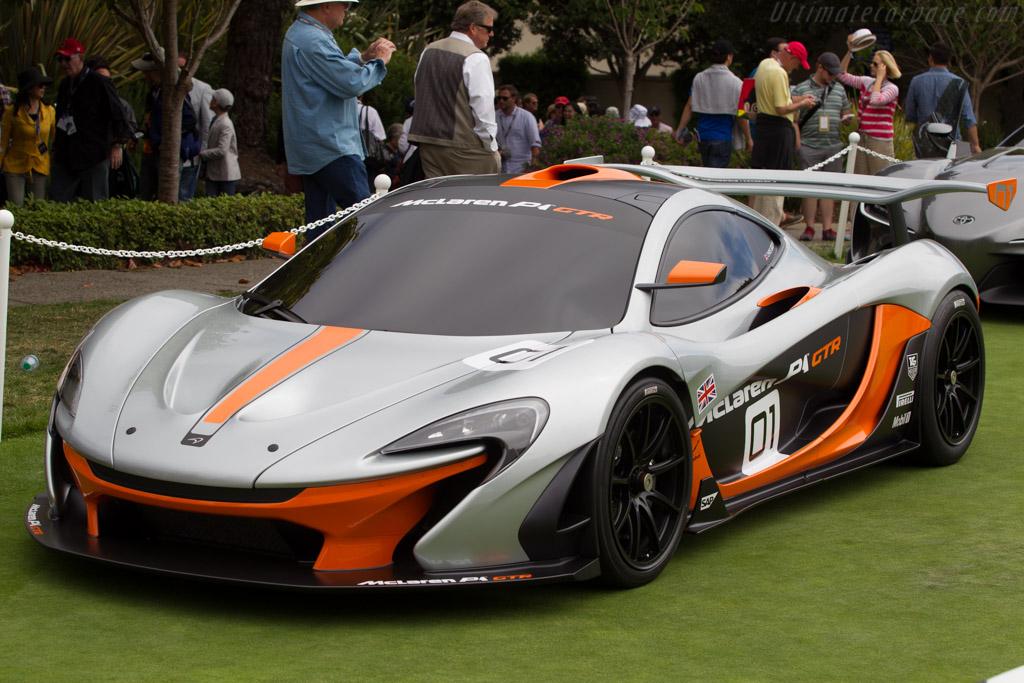 McLaren P1 GTR    - 2014 Pebble Beach Concours d'Elegance