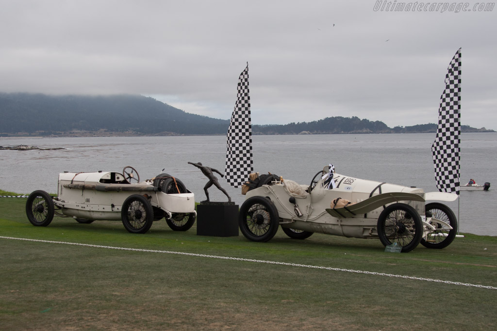 Mercedes 18/100 Grand Prix - Chassis: 15368 - Entrant: The Revs Institute for Automotive Research  - 2014 Pebble Beach Concours d'Elegance