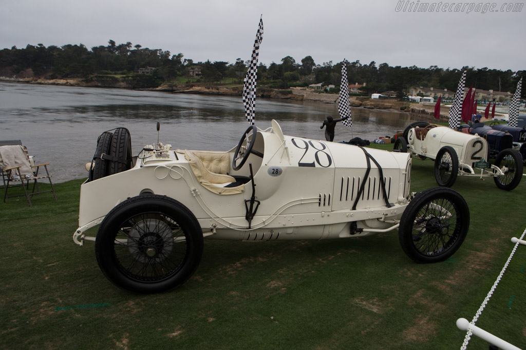 Mercedes 18/100 Grand Prix - Chassis: 15364 - Entrant: George F. Wingard  - 2014 Pebble Beach Concours d'Elegance