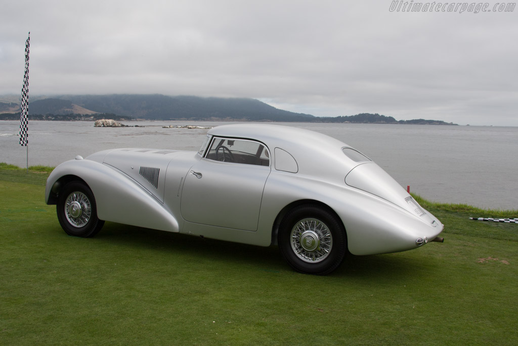 Mercedes-Benz 540K Streamliner  - Entrant: MErcedes-Benz Classic  - 2014 Pebble Beach Concours d'Elegance