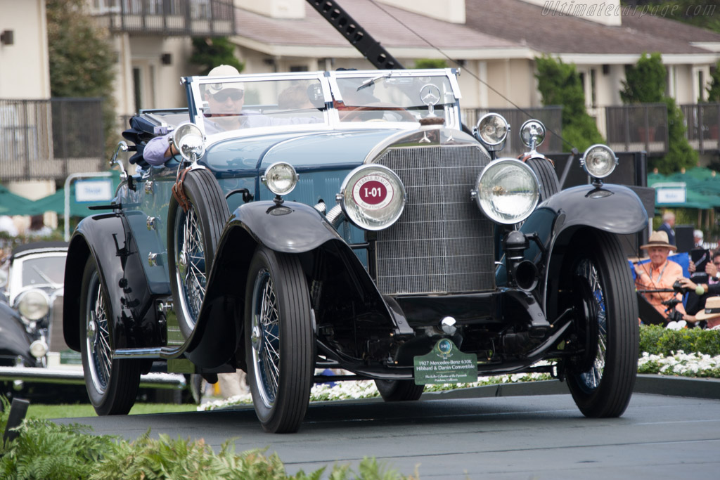 Mercedes-Benz 630K Hibbard & Darrin Convertible - Chassis: 38182 - Entrant: The Keller Collection at the Pyramids  - 2014 Pebble Beach Concours d'Elegance