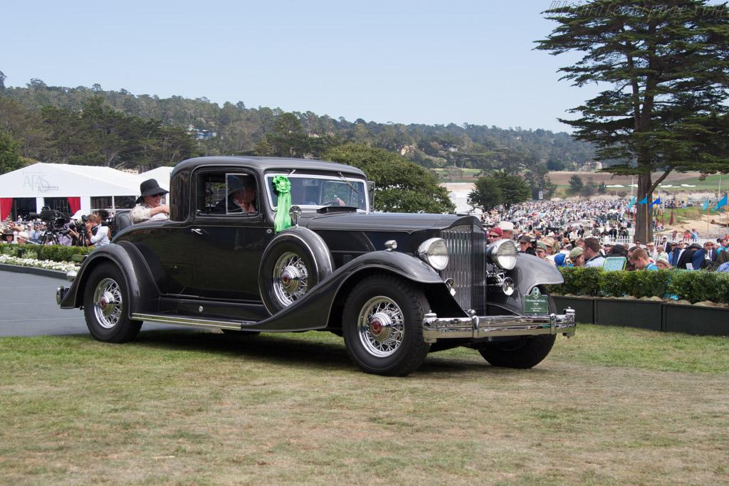 Packard 1005 Twelve Coupe  - Entrant: Laura & Jack B. Smith Jr.  - 2014 Pebble Beach Concours d'Elegance