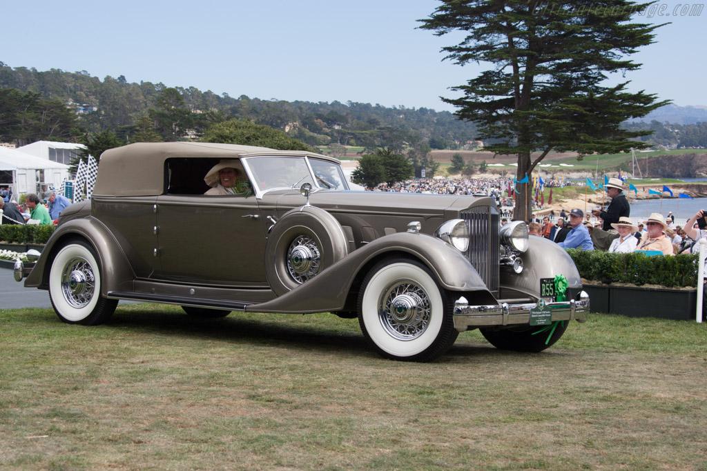 Packard 1108 Twelve Dietrich Convertible Victoria  - Entrant: Frank & Milli Ricciardelli  - 2014 Pebble Beach Concours d'Elegance