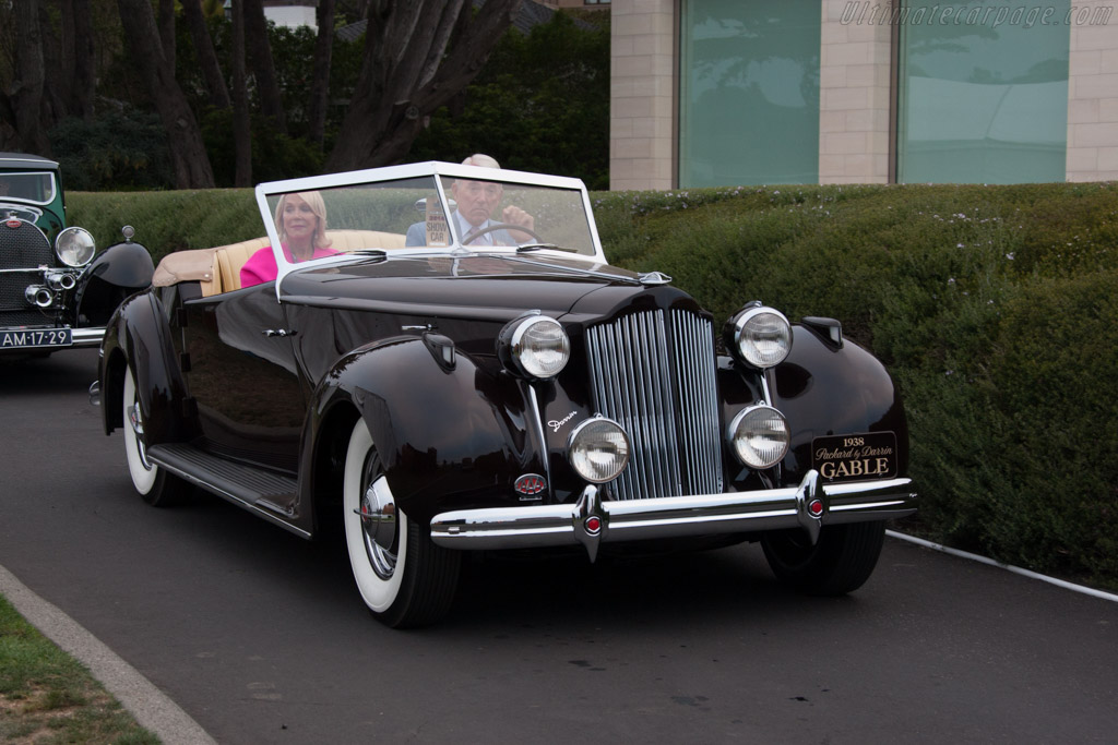 Packard 120 Eight Darrin Convertible Coupe  - Entrant: Lee R. Anderson  - 2014 Pebble Beach Concours d'Elegance
