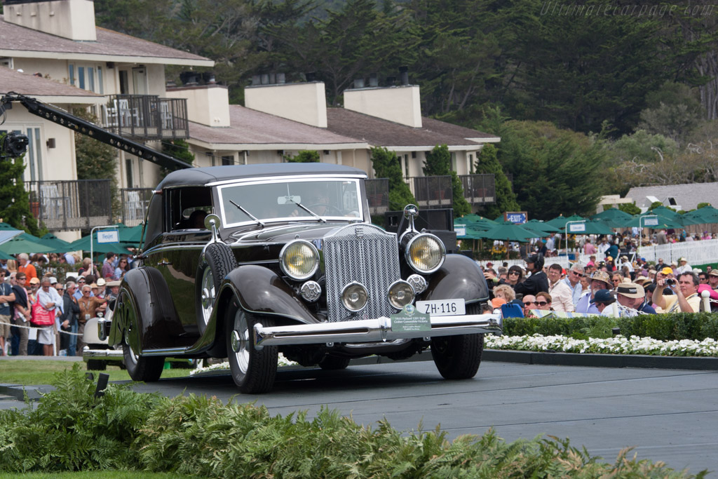 Packard 1201 Eight Graber Convertible Victoria  - Entrant: Ralph & Adeline Marano  - 2014 Pebble Beach Concours d'Elegance