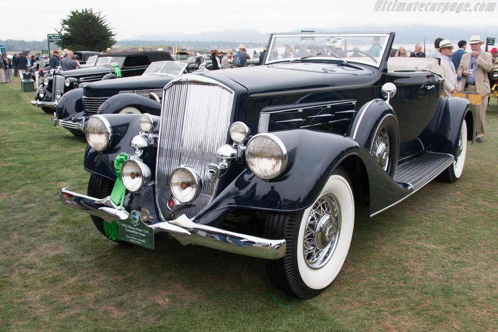 Pierce Arrow 1245 Convertible Coupe  - Entrant: Evergreen Historic Automobiles  - 2014 Pebble Beach Concours d'Elegance