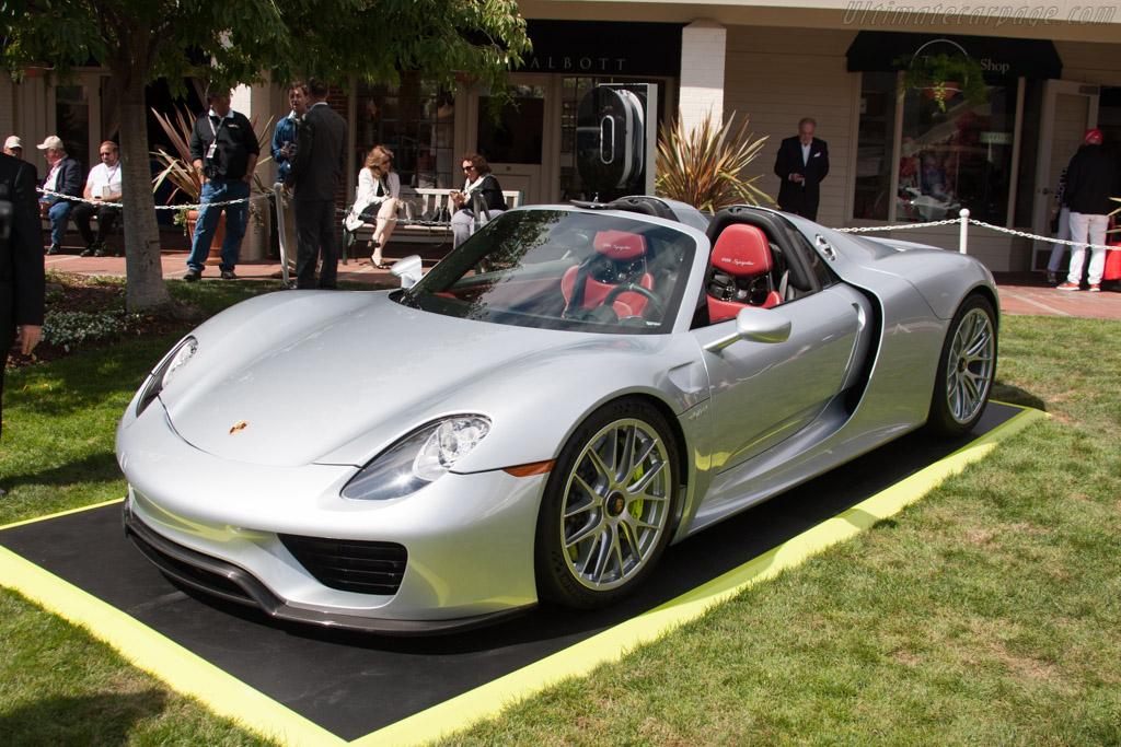 Porsche 918 Spyder    - 2014 Pebble Beach Concours d'Elegance