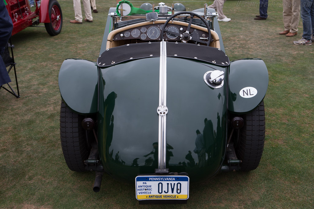 Riley MPH Roadster - Chassis: 44T2415 - Entrant: Willem van Huystee  - 2014 Pebble Beach Concours d'Elegance